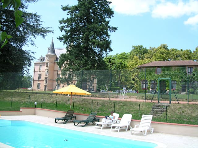 Chateau 22 beds with swimming pool in countryside