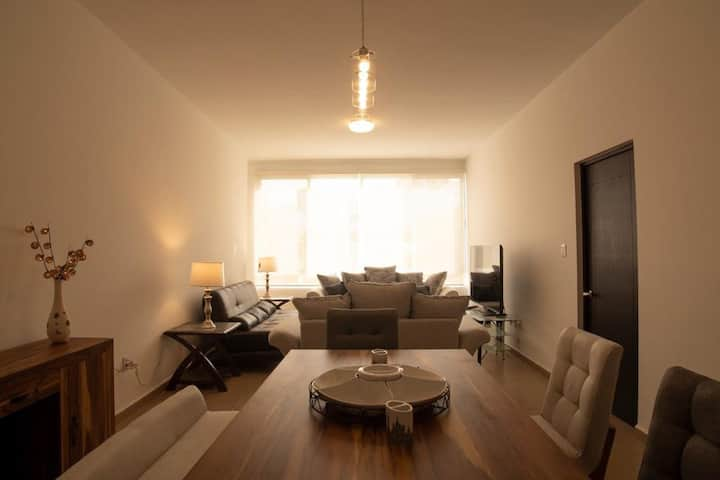 Newly furnished BEST located beautiful apartment.