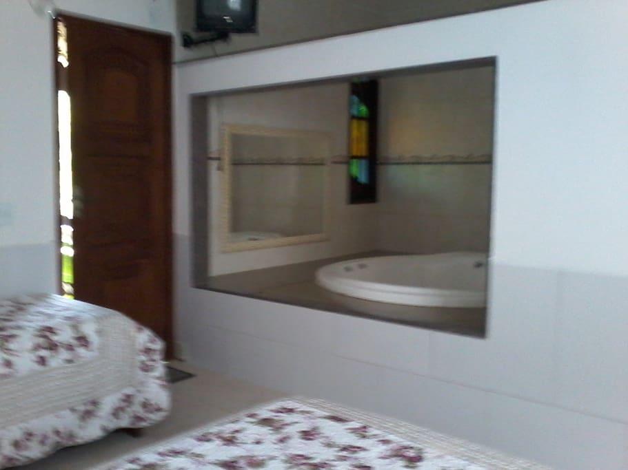 Hidro + cama casal + cama solteiro