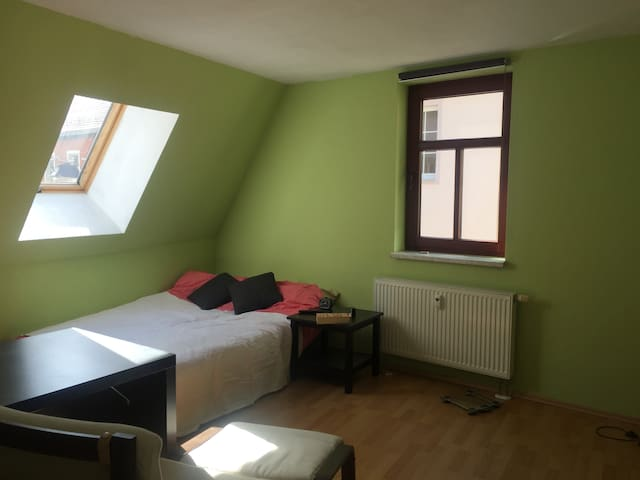 Large room in comfortable apartment! - Jena - Byt