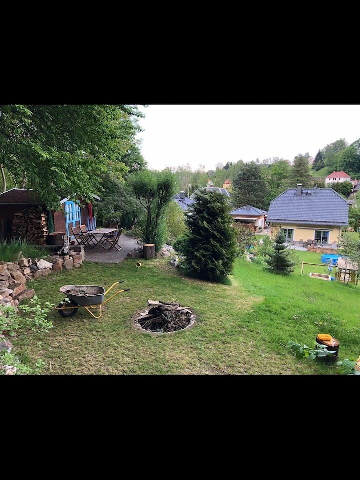 Wohnen direkt am Wald und Muldentalradweg