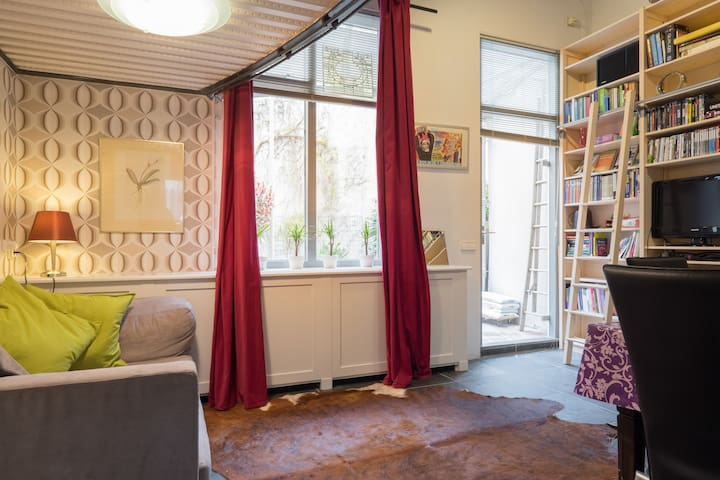 Minihouse historic centre + garden - Leiden - Townhouse