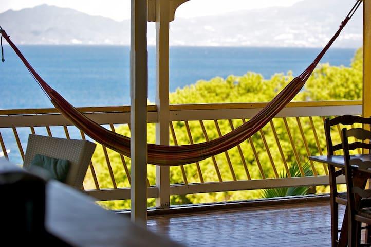 Un petit paradis ouvert sur la mer - terre de haut - Casa