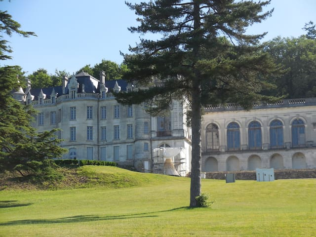 Just a ten minute drive from the house is the beautiful chateau of La Mercerie.  This is a breathtaking location and the history of the building is fascinating.