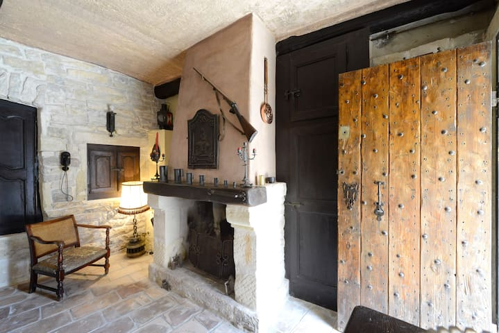 Authentic southern french house - Nages-et-Solorgues - Casa