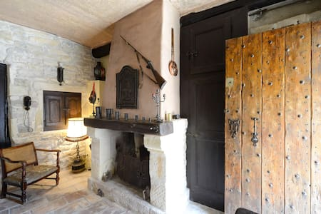 Authentic southern french house - Nages-et-Solorgues - Huis