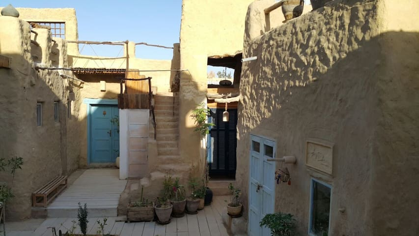 Traditional Siwan Eco Room In Siwa Town - Qesm Siwah - Dom