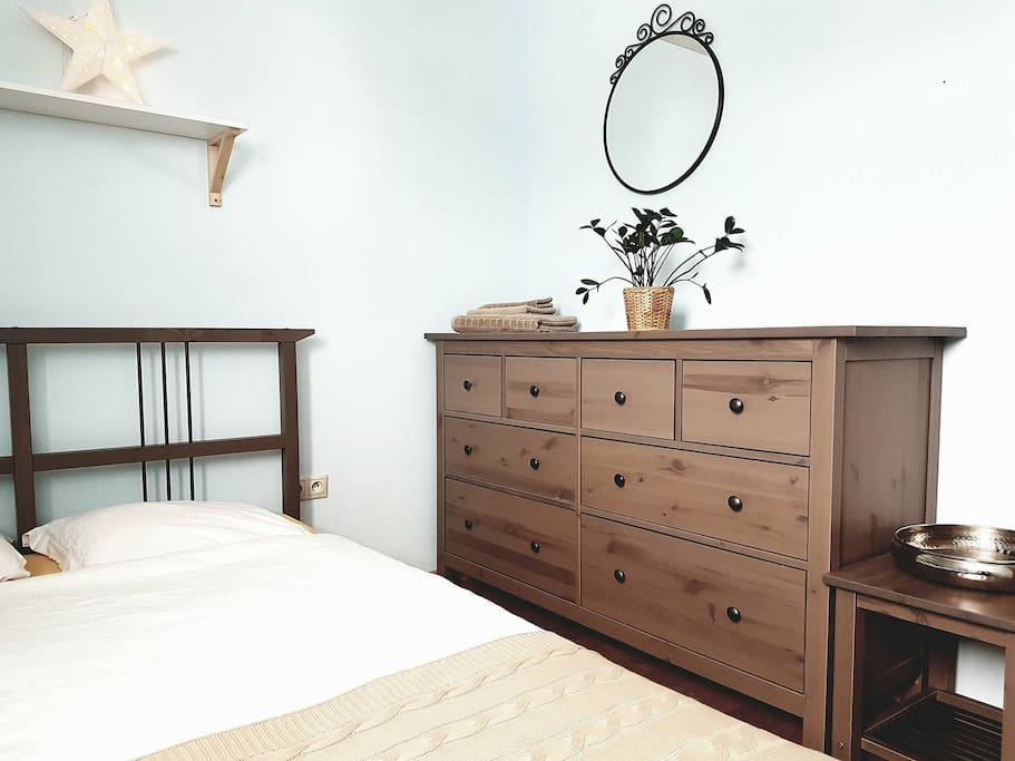 Separate guest room