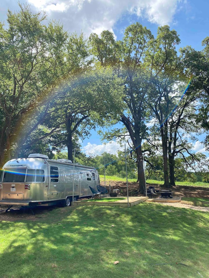 Close to Home, A World Away. Airstreams, 2 Twins