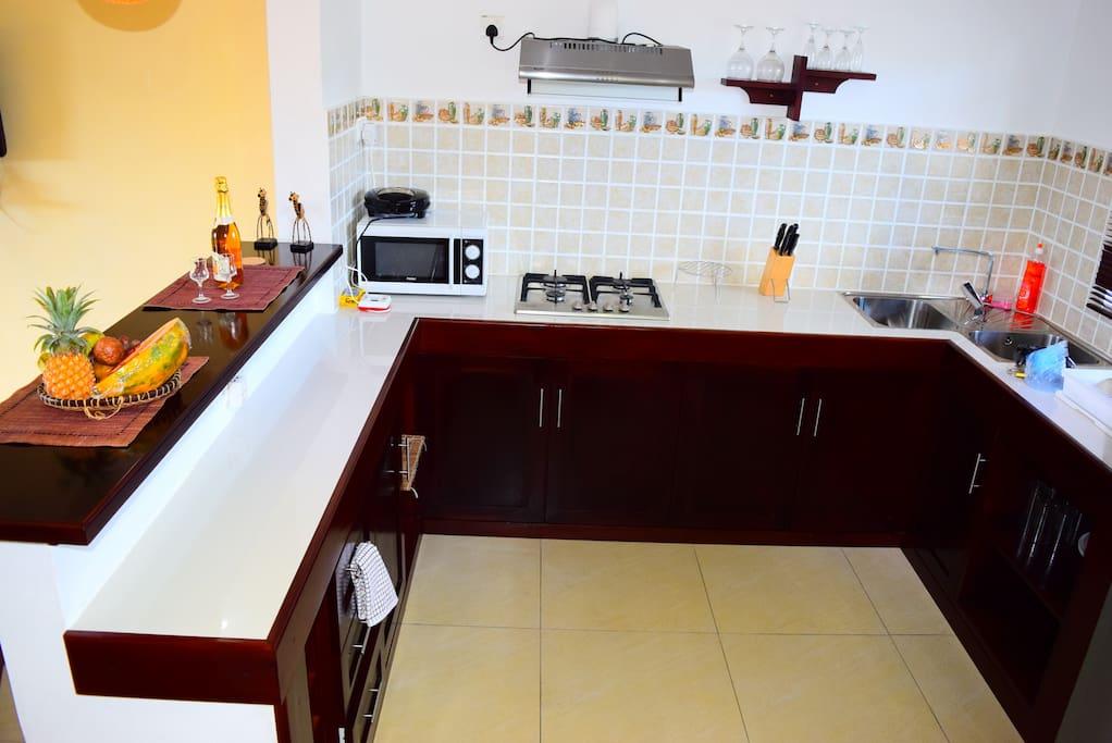 African room kitchen