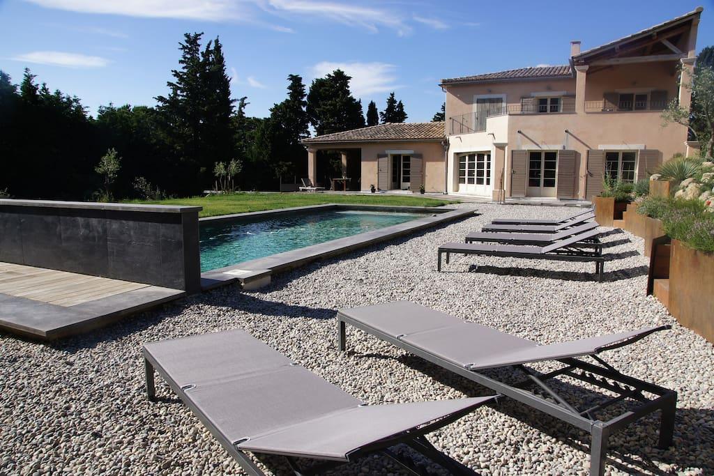 Proche st r my avec piscine maisons louer - Location cote d azur avec piscine ...