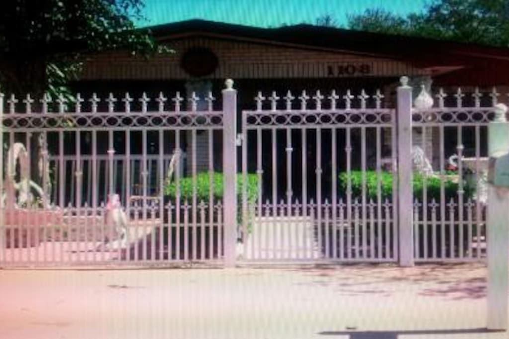 Privately fenced all around for you children to play or for you pet to run freely.