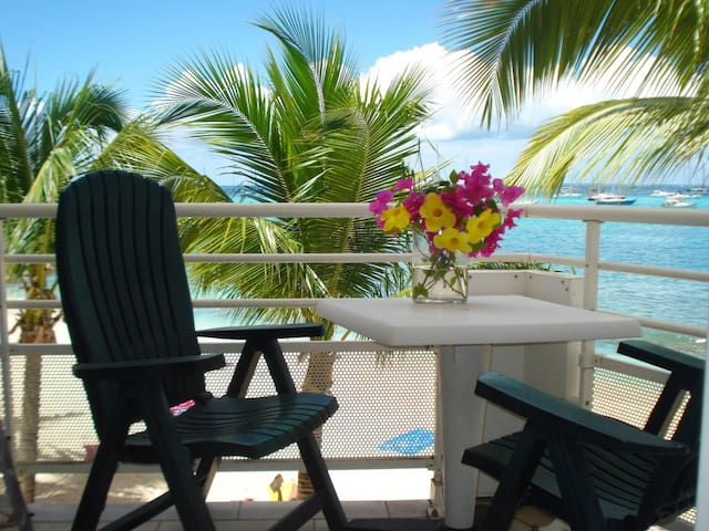 Beachfront condo-Marigot St Martin. - Marigot - Appartement