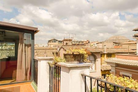 """Panoramic """"studio"""" in Rome - Roma - Leilighet"""