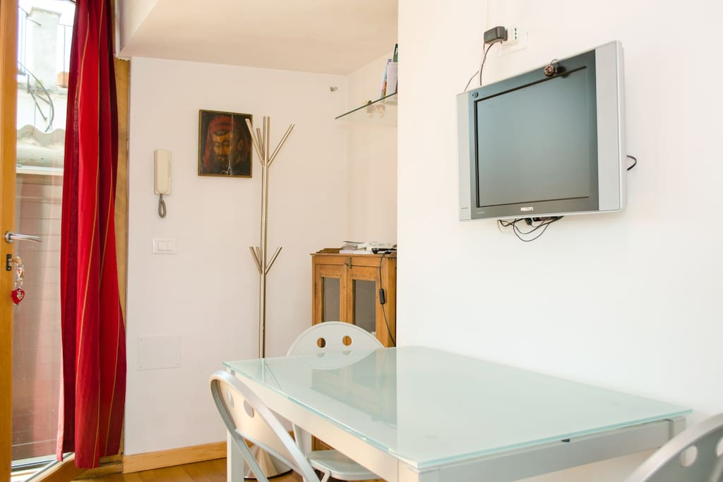 "Panoramic ""studio"" in Rome"
