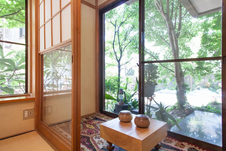 Traditional Tea Room with tranquil environment. - Ota - Huis