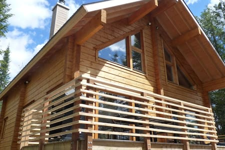 **Fall Special** Luxurous Urban Log Cabin on Lake - Dağ Evi