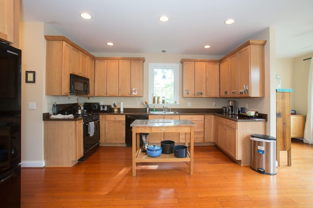 Big kitchen with everything you'd ever need.