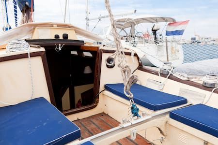 Classic Wooden Sailboat with WIFI