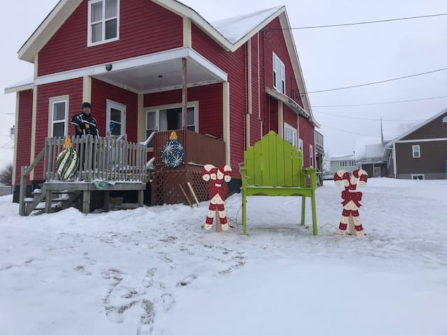 Our Big Red House, unit # 1