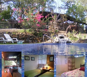 Two rooms with kitchenette on Horse Farm with pool - San Rafael Abajo - Wohnung