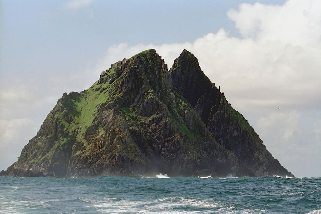 Skellig Micheal - A must see iconic location for all Star Wars fans and a stunning island to visit