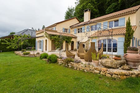Provencal villa with stunning view. - Chardonne