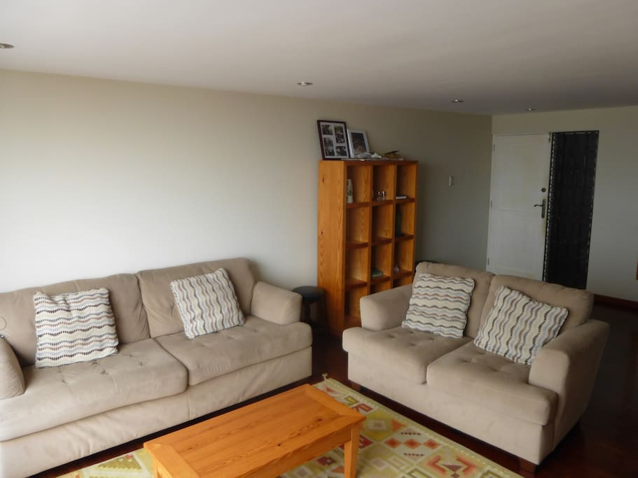 Shared living room with comfortable seating