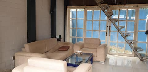 Fully equipped house near Airport for long term.