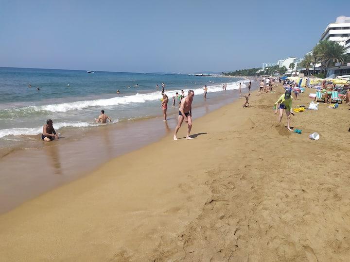 Орион Резорт 5* 1+1 с собственным песчаным пляжем