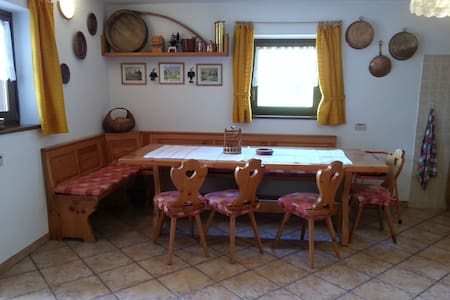 """Maso alpino """"Baita Facchini"""" - Roncone - House"""