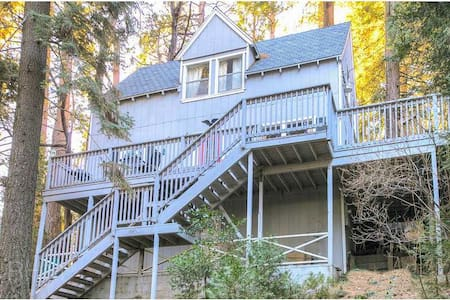 Life Is Better On the Deck! - Lake Arrowhead - Haus