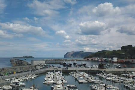 Puerto de Bermeo Apto/2 hab.+salon - Bermeo - Lägenhet