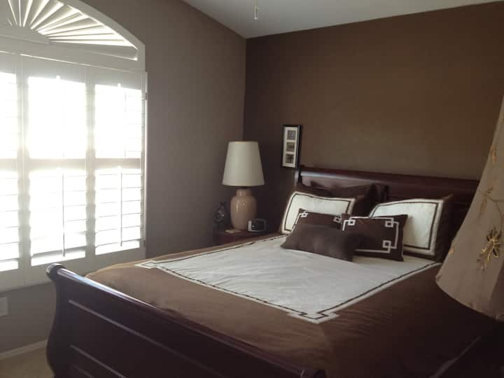 Nice room on a golf course property
