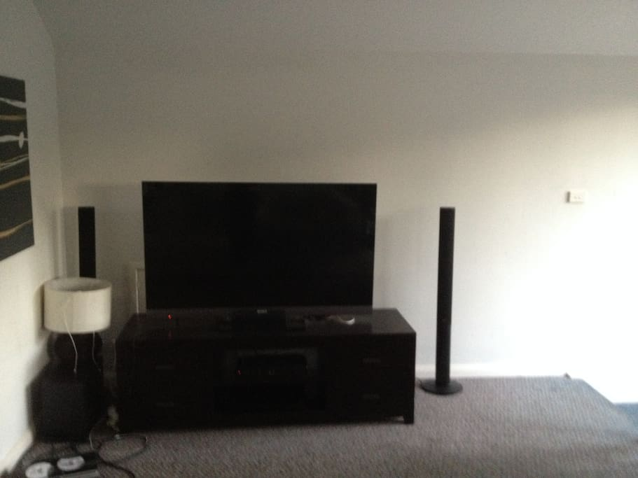 55 inch HD surround sound TV complete with Foxtel IQ Platinum package