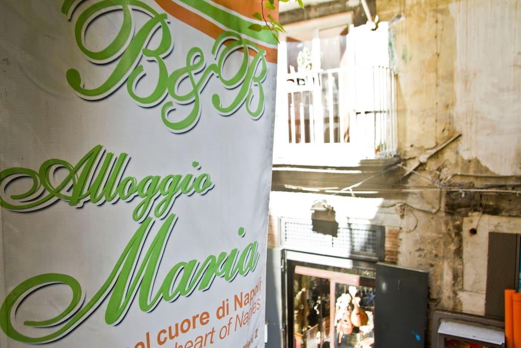Esterni B&B Alloggio Maria