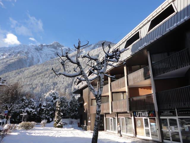 Centre Chamonix au pied des remontées mécaniques