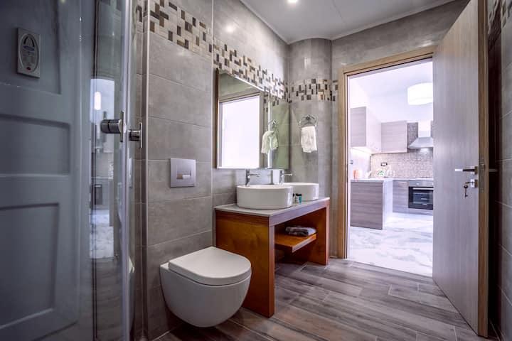 Katsaros Luxury Apts 5min walk to beach - Deluxe Apartment 2