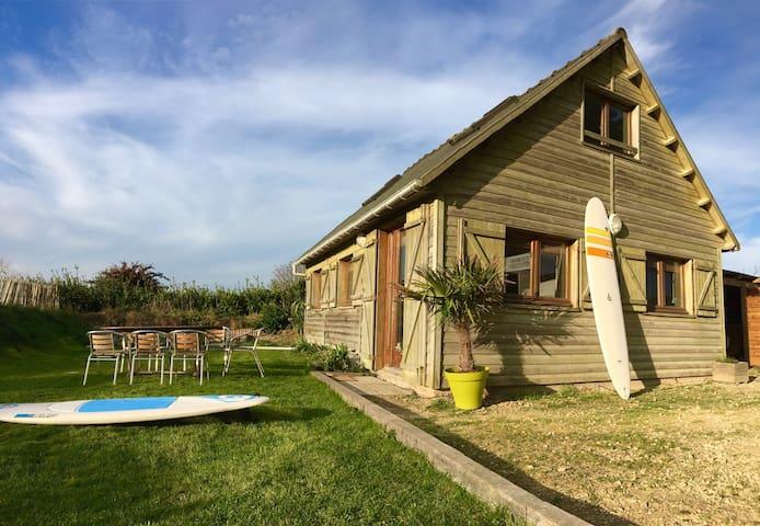 Maison en bois cosy au Dossen - Santec - Casa
