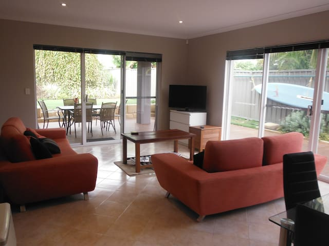 A large living area provided for your comfort