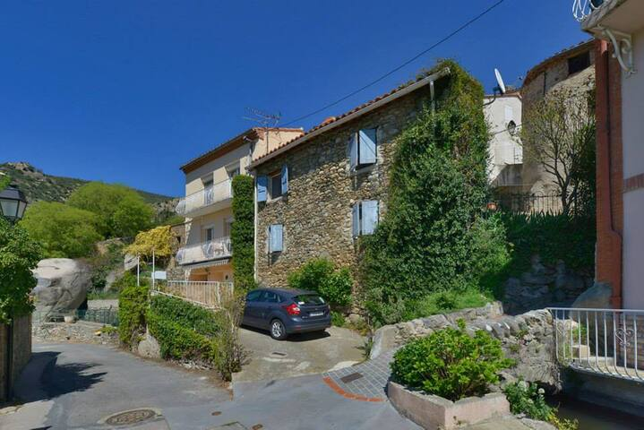 La Maison aux Volet Bleus - Rodès
