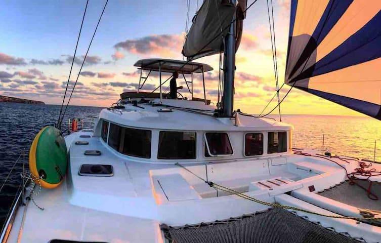 44 feet Luxury Catamaran Adventure w/ Skipper