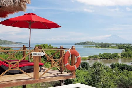 Amazing 4 bedroom/pool,Gili Gede Hill,Villa Vista - Central Sekotong - Villa