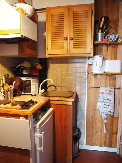 La cuisine, très fonctionnelle