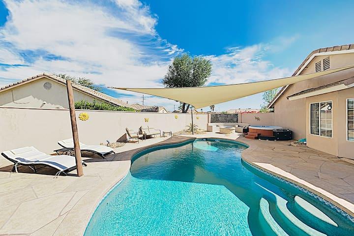 New Listing! Stylish Getaway w/ Pool & Hot Tub