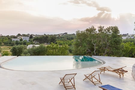 Stylish Trullo's Lamia with pool - Ostuni - Andere