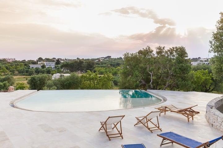 Stylish Trullo Lamia with pool