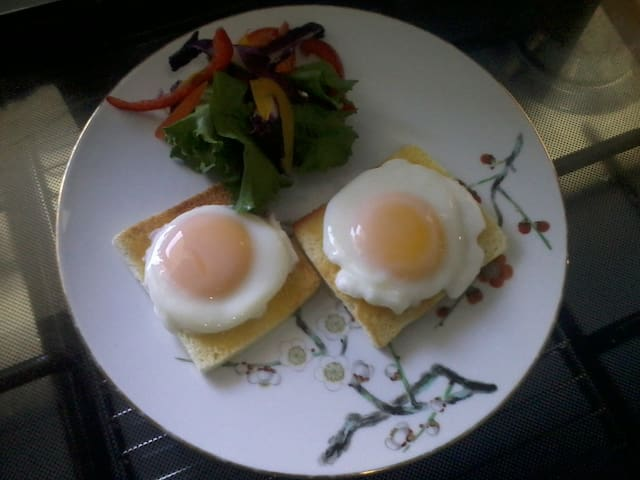 Do you fancy poached eggs?