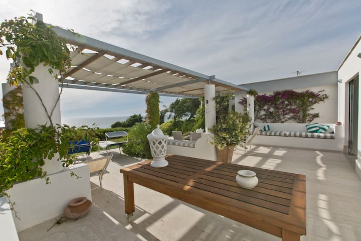 Charming luminous seafront villa - Sabaudia - Willa