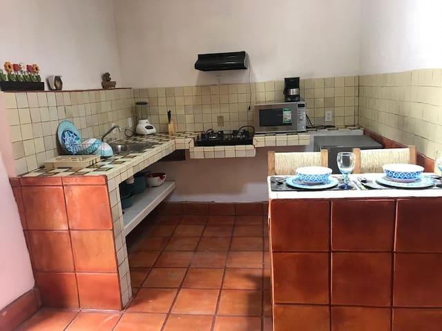 Confortable departamento en Guanajuato capital.